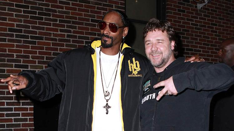 Snoop Dogg Crowe Letterman