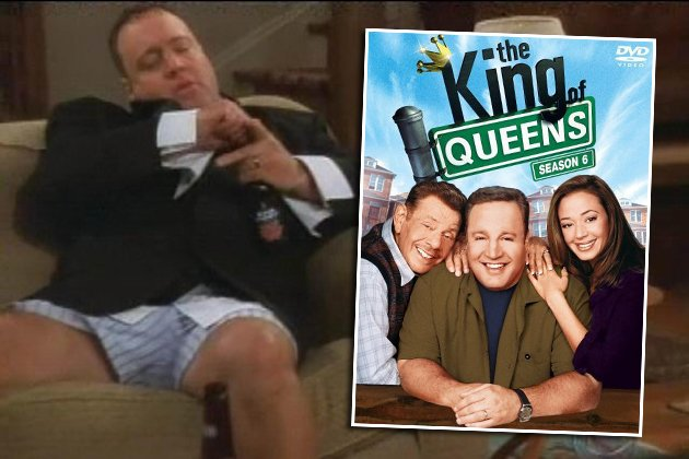 "Neun Jahre war Kevin James (l.) der ""King of Queens"" (Bilder: Wenn/DVD Koch Media)"