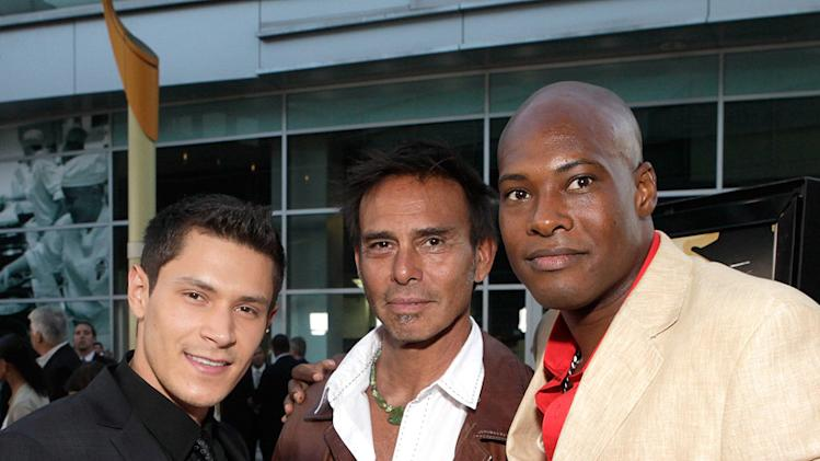 Love Ranch LA Premiere 2010 Alex Meraz Raoul Trujillo Bo Brown
