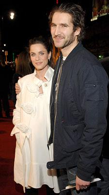 Amanda Peet and David Benioff at the Hollywood premiere of Universal Pictures' Smokin' Aces
