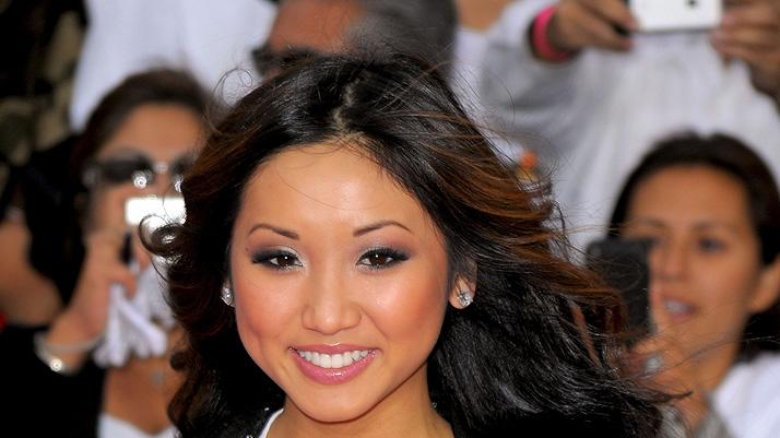 Michael Jackson's This It It LA Premiere 2009 Brenda Song