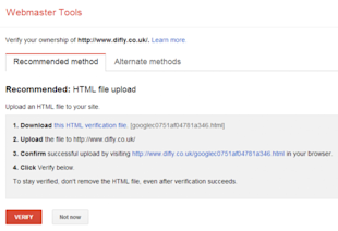 Google Webmaster Tools: Best Practices for Boosting SEO image 1.verify ownership e1404841047719
