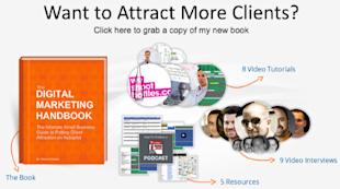 How to Develop a Content Marketing Strategy: The First 3 Steps image DMH Book Offer6