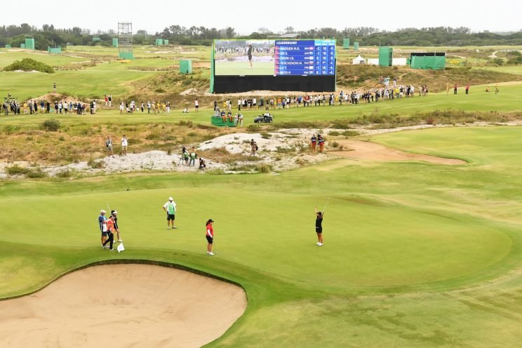 The future of the Olympic golf course isn't clear. (Getty Images)