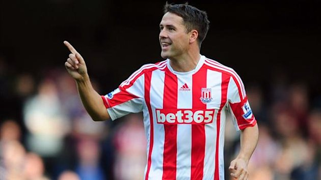 Stoke City's Michael Owen