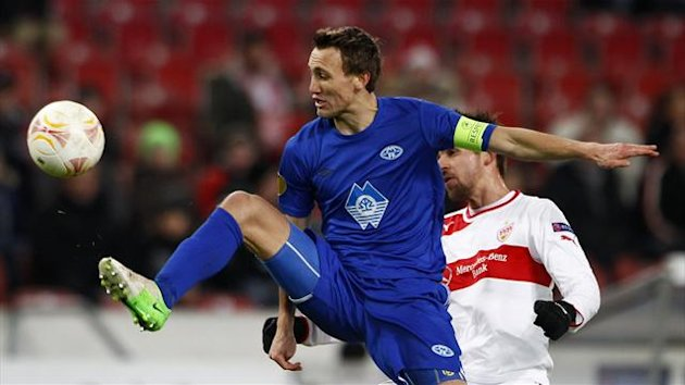 Magnus Eikrem in action for Molde FK (Reuters)
