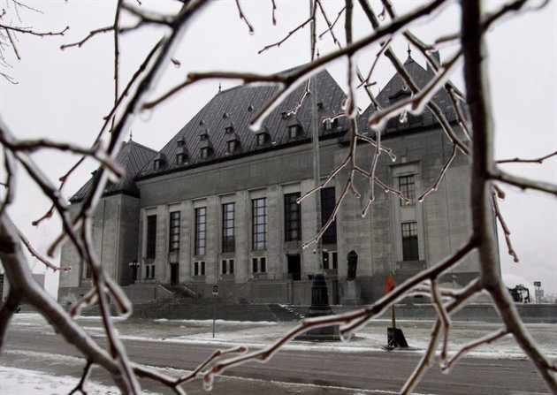 The Supreme Court of Canada. THE CANADIAN PRESS/Adrian Wyld