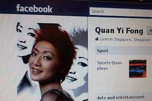 Popular TV host Quan Yi Fong gets into trouble with the law. (Facebook photo)
