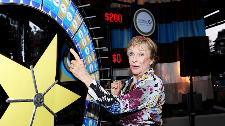 "Cloris Leachman of ""Raising Hope"" celebrates at the 2010 Fox Fall Eco-Casino party on September 13, 2010, at Boa in West Hollywood."