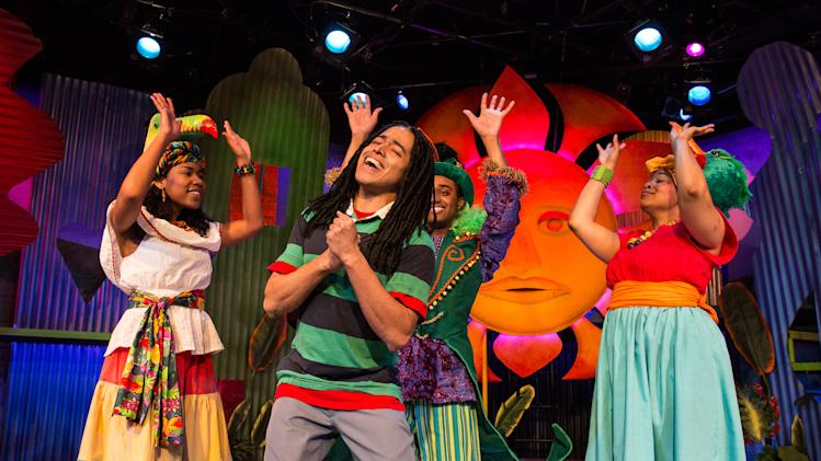 Bob Marley musical for kids jammin' in New York