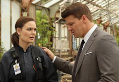 Emily Deschanel and David Boreanaz | Photo Credits: Patrick McElhenney/FOX