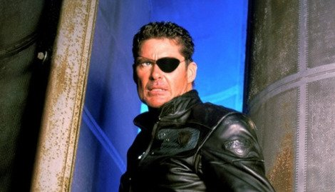 The definitive Nick Fury? The Hoff seems to think so.