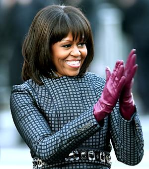 "Michelle Obama Calls Her Bangs Her ""Midlife Crisis"""