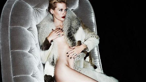 January Jones, la Grace Kelly contemporánea