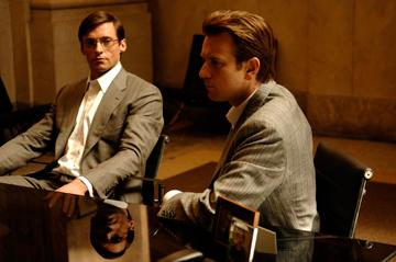 Hugh Jackman and Ewan McGregor in 20th Century Fox's Deception