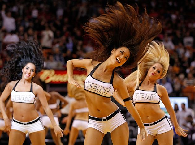 The Miami Heat Dancers Getty Images