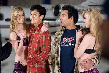 John Cho and Kal Penn in New Line Cinema's Harold and Kumar Escape From Guantanamo Bay