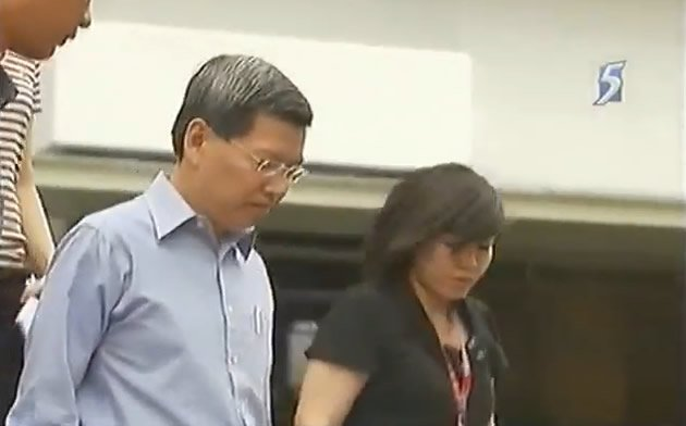 Ex-SCDF chief, Peter Lim, claims trial to the corruption charges against him. (YouTube screengrab)
