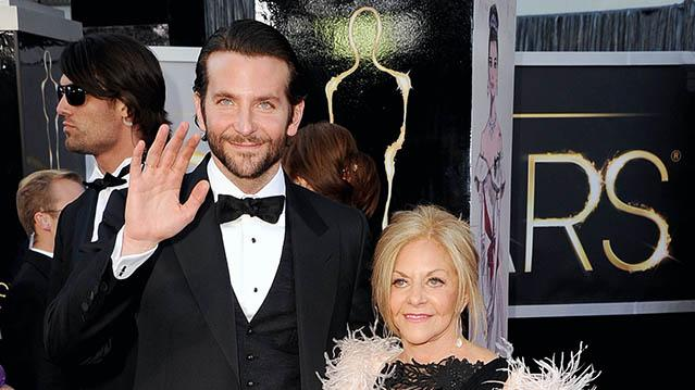Bradley Cooper and Mom Gloria Cooper