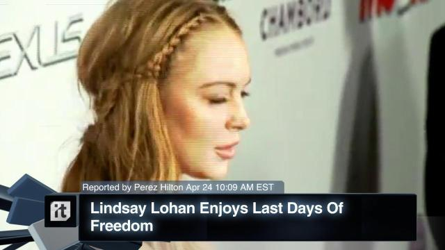 Lindsay Lohan News - Porsche, Tom Brokaw, Avi Snow