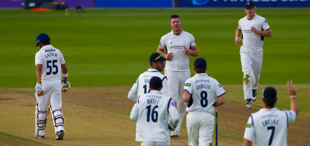 Cricket - LV= County Championship - Division Two - Hampshire v Essex - Day Two - Ageas Bowl