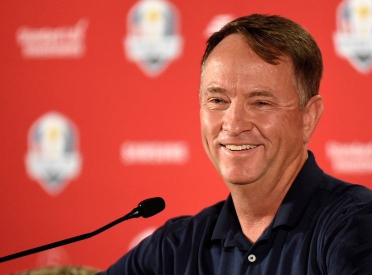 Davis Love III gets a second shot at being captain next week in Minnesota. (Getty Images)