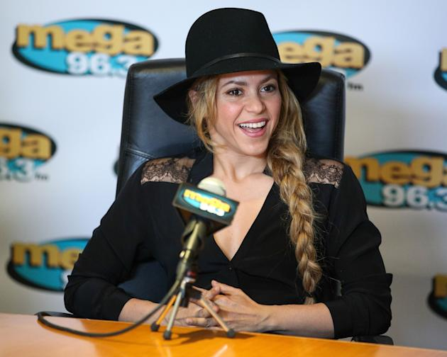 Shakira Unveils New Radio Station