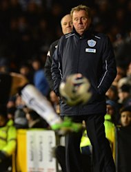 "Queens Park Rangers manager Harry Redknapp is pictured during his side's Premier League match against Fulham on April 1, 2013. ""It was a disastrous first half and it cost us,"" Redknap said after their 3-2 loss"