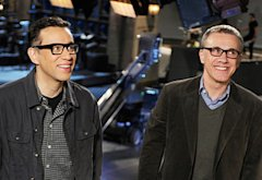 Fred Armisen, Christoph Waltz | Photo Credits: Dana Edelson/NBC