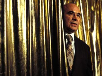 Bob Hoskins in Lions Gate Films' Beyond the Sea