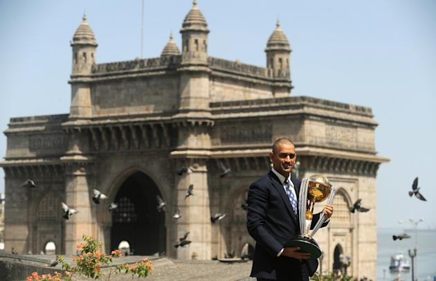India's cricket team captain Mahendra Si