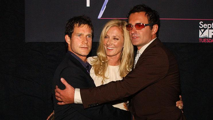 "Dylan Walsh, Joely Richardson and Julian McMahon at the FX Networks ""Nip/Tuck"" 3rd Season Premiere Screening."