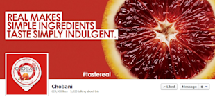Chobani's Social Impact: Lessons in Brand Best Practices image chobani fb