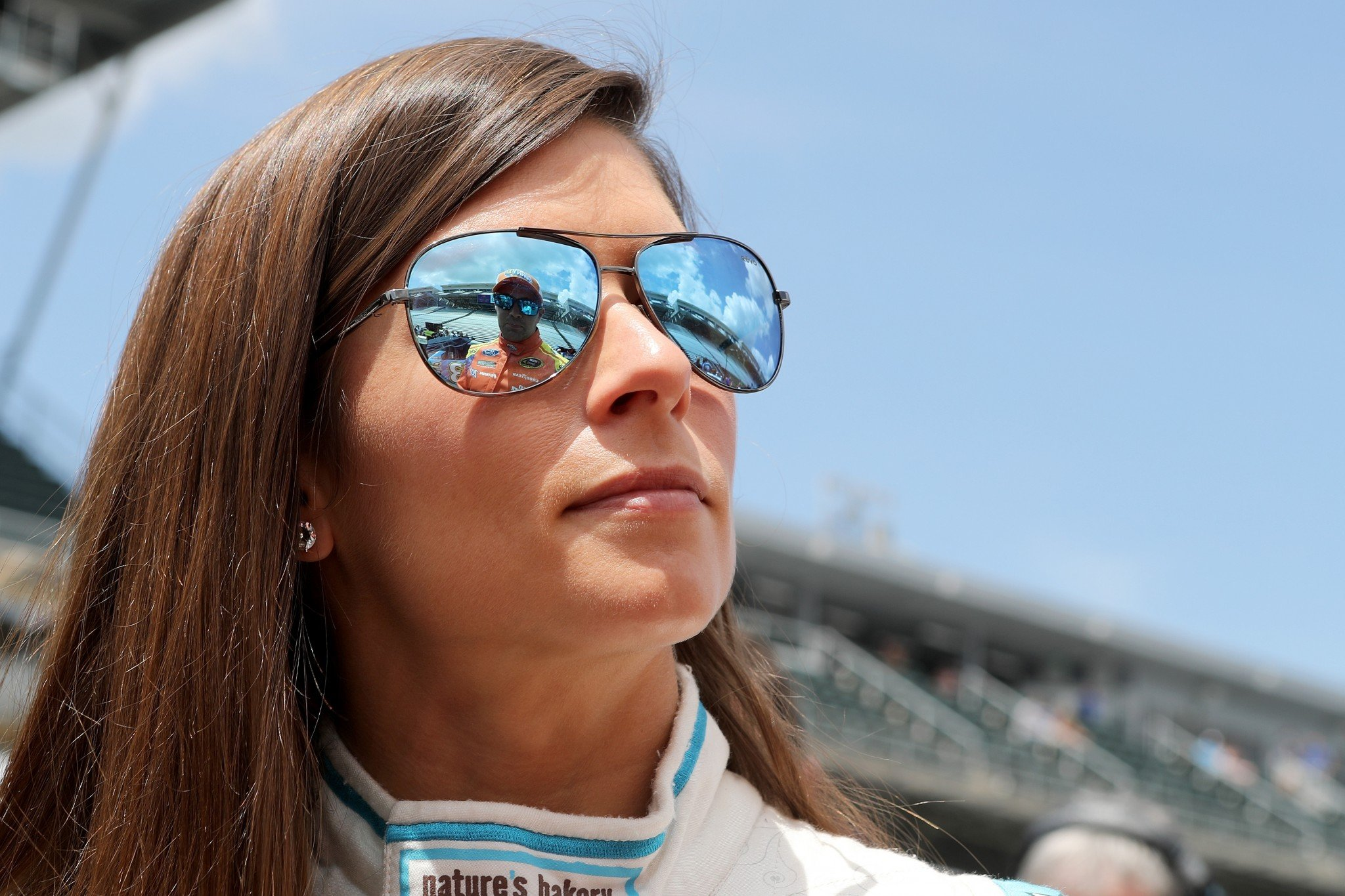 Danica Patrick is 24th in the points standings in 2016 (Getty).