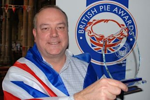 Video: Pub pie scoops supreme champion at the British Pie Awards