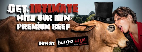 The main image seen on Burger Urge's homepage of their website. (burgerurge.com.au)