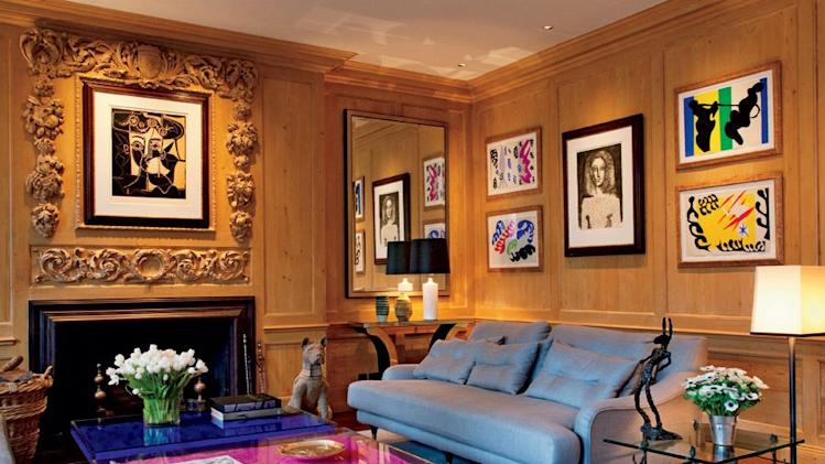 celeb living rooms