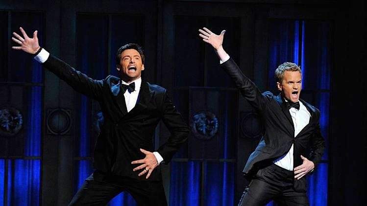Jackman Harris Tony Awards