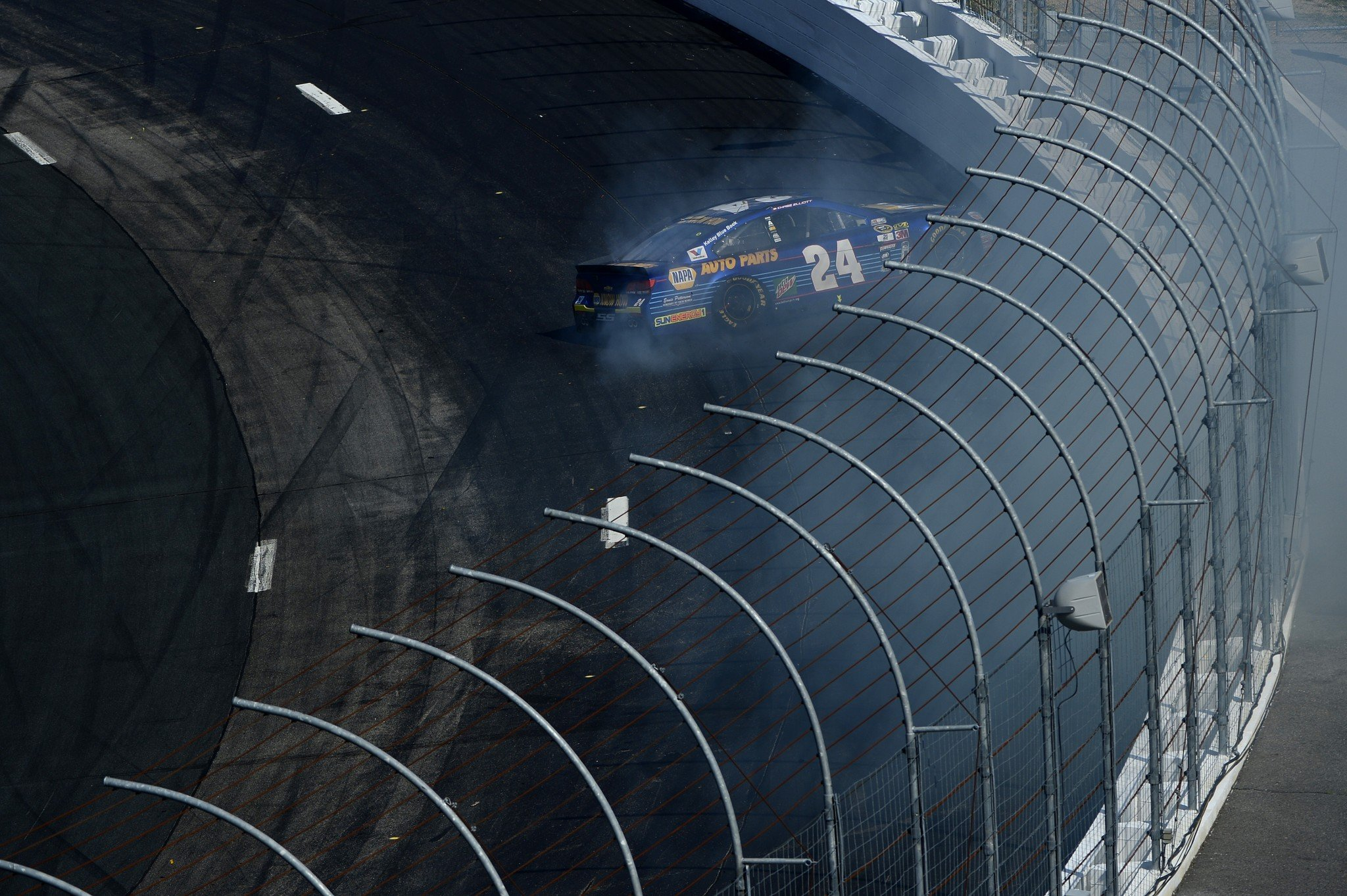 Jimmie Johnson was the highest-finishing Hendrick driver at NHMS. He was 12th (Getty).