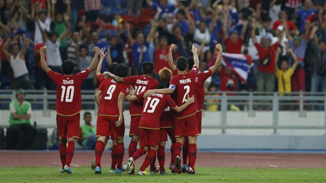 World Football - Thailand reach Suzuki Cup final