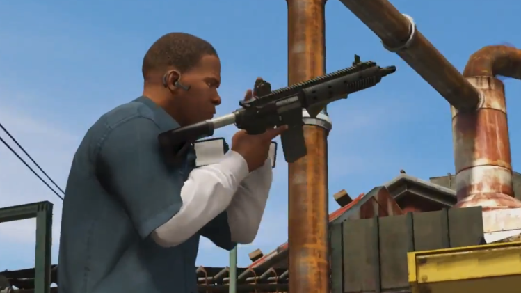 Grand Theft Auto V accounted for half of all game sales in September