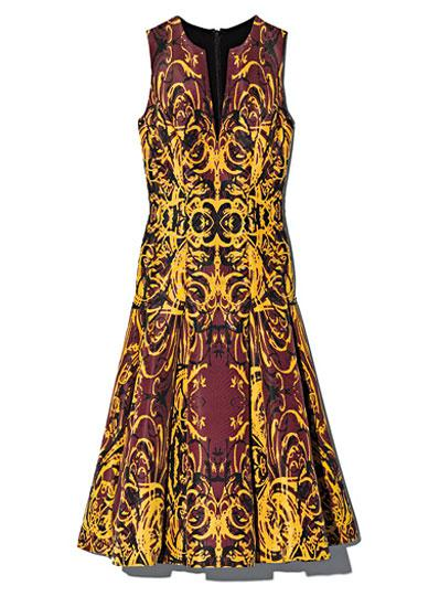 Wes Gordon Dress, $2,450, bergdorfgoodman.com