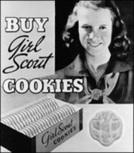Girls Scout Cookies poster