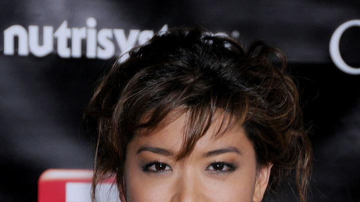Grace Park arriving at TV Guide's 6th Annual Emmy Award After Party at The Kress on September 21, 2008 in Hollywood, California.