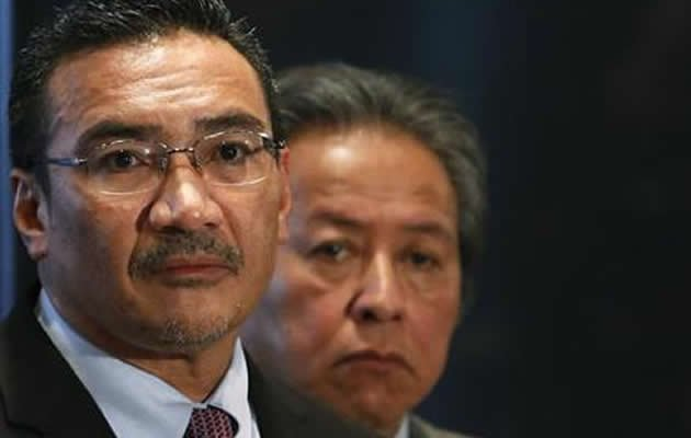 "Malaysia's Acting Transport Minister Hishammuddin Hussein said that the latest satellite images released by Australia showing two objects that could possibly belong to MH370 have been corroborated ""to a certain extent"" by other satellites. (Reuters photo)"