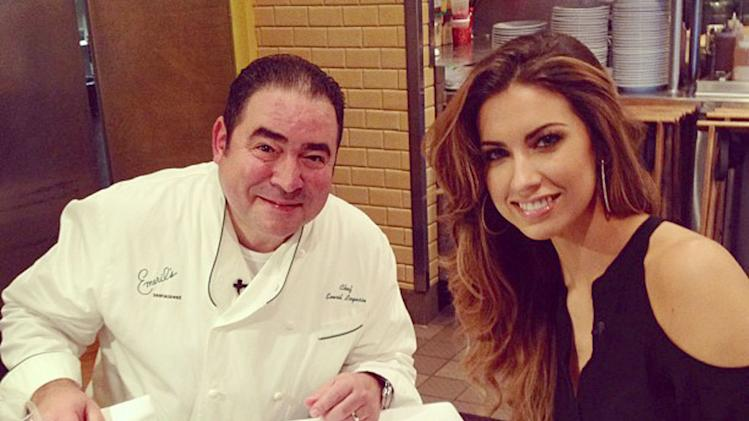 Katherine Webb, Emeril Lagasse