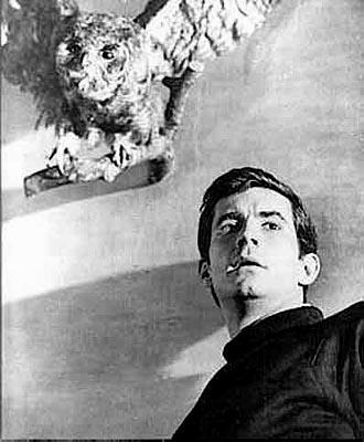 Anthony Perkins as Norman Bates in Paramount's Psycho