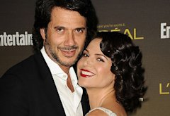 Fred Di Blasio, Lana Parrilla | Photo Credits: Jason LaVeris/FilmMagic