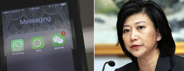Mobile chat apps like WhatsApp and WeChat are decimating telcos' traditional revenue streams. (AFP photo)
