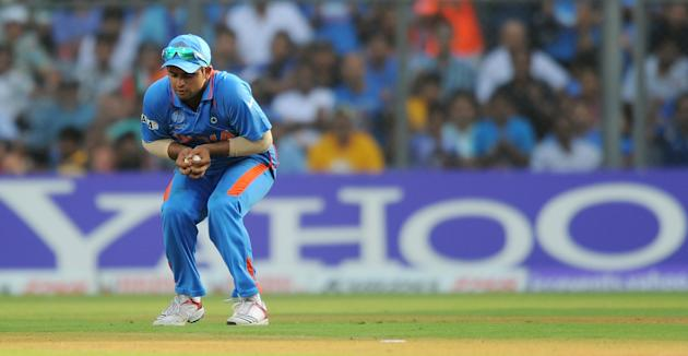 Indian cricketer Suresh Raina takes a ca